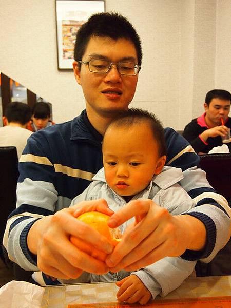 1/13 屁屁好想吃橘子