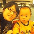 1/14 跟媽媽去MOMO吃壽喜燒