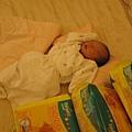 弟弟的一堆尿布