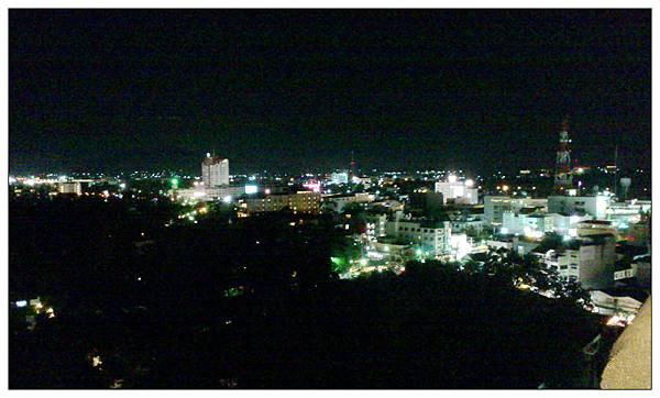 泰國華欣希爾頓客房夜景
