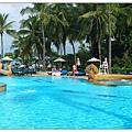 泰國華欣希爾頓泳池