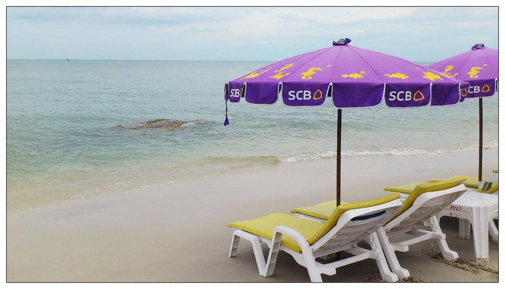 泰國華欣希爾頓--沙灘