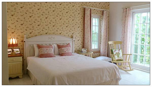 花蓮雲山水民宿客房玫瑰白雙人房