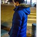 兒子的新羽絨外套