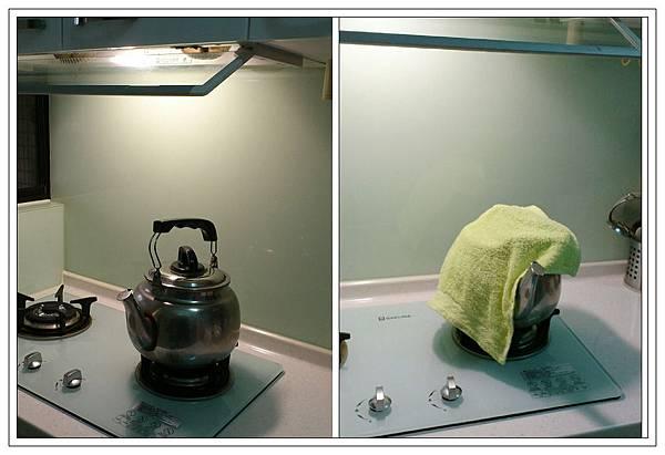 溫熱擦手毛巾