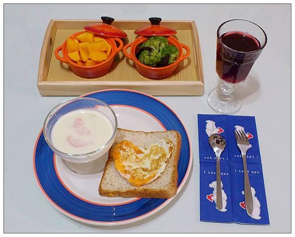 自製早午餐