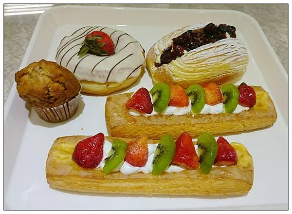 甜點和麵包