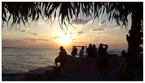沖繩-北谷美浜海灘