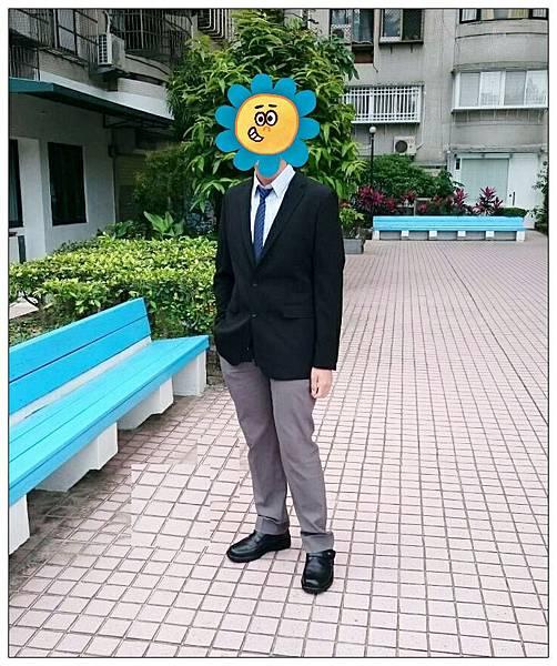 兒子參加大學甄試