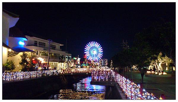 沖繩美國村夜景