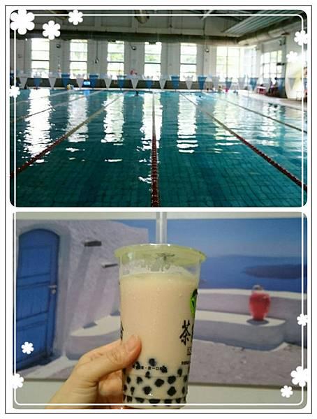今夏第一泳