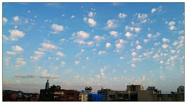 可愛的雲朵