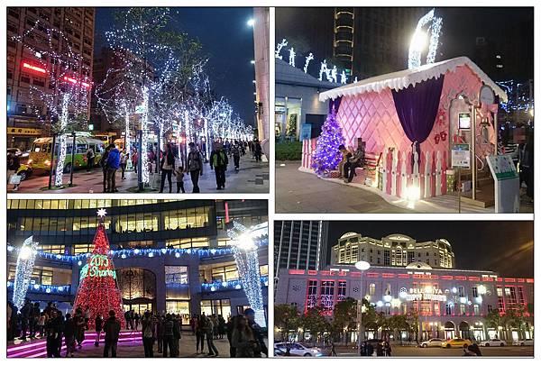 信義區聖誕街景