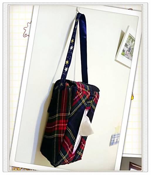 DIY手作吊掛面紙袋