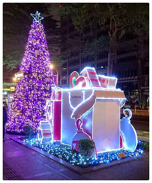 六福皇宮飯店聖誕樹