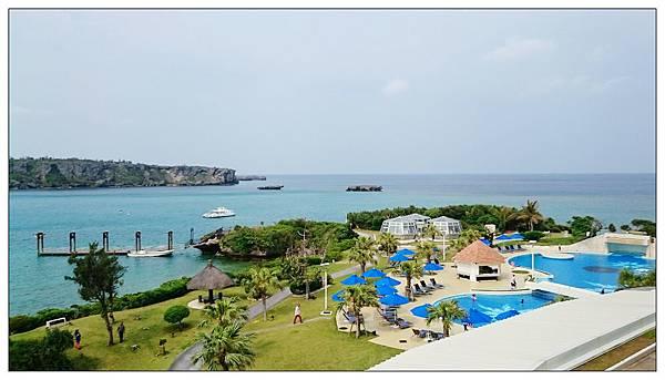 沖繩萬座ANA全日空洲際飯店房間陽台景觀