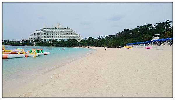 沖繩萬座ANA全日空洲際飯店沙灘