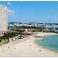 沖繩北谷VESSEL飯店房間陽台景觀