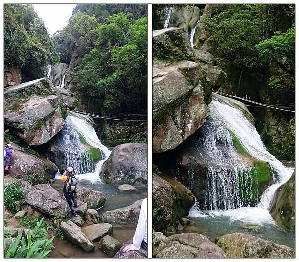 內湖大溝溪步道圓覺瀑布