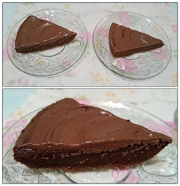 自製巧克力蛋糕