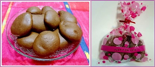 自烤巧克力餅乾