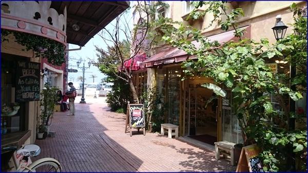 沖繩美國村異國風街景