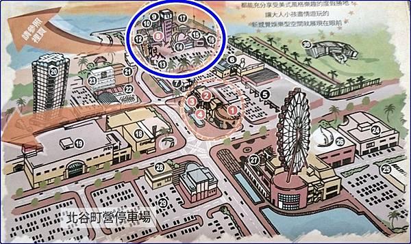 沖繩美國村地圖