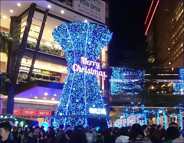 台北信義區聖誕燈飾