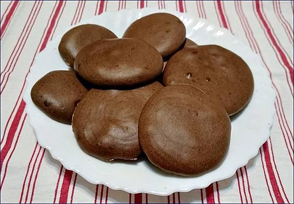 自做巧克力圓餅
