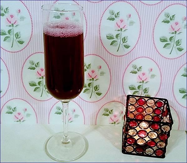 自做藍莓果醬泡水喝-藍莓飲