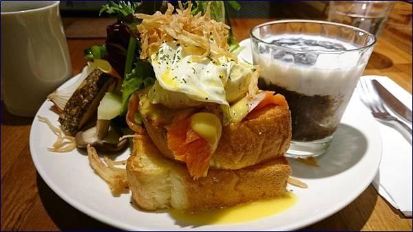 光合箱子台北店班迪克蛋燻鮭魚