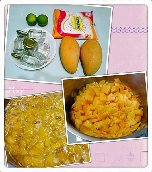 自製芒果果醬