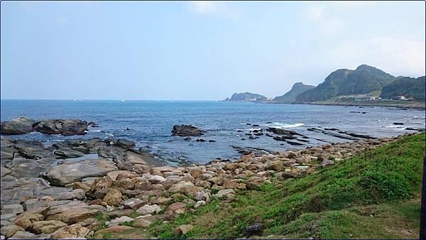 八斗子火車站海邊
