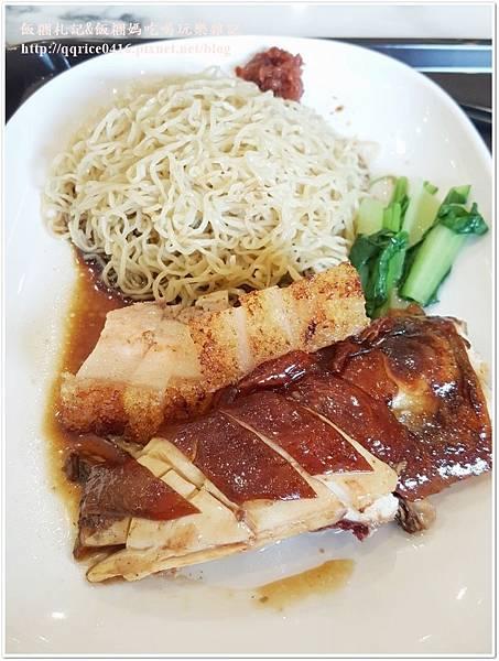 ❤ 新加坡米其林一星小販~『了凡香港油雞飯‧麵』(台北市區‧2017-07)