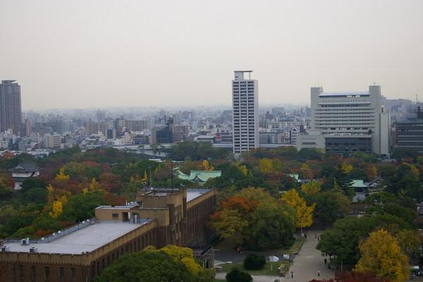 大阪城_眺望歷史博物館