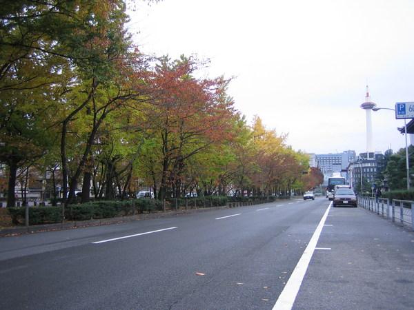 東本願寺前