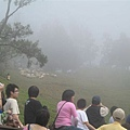 霧茫茫=_=變化很快的天氣...