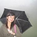 我的愛傘~~黑色蕾絲小雨傘~~