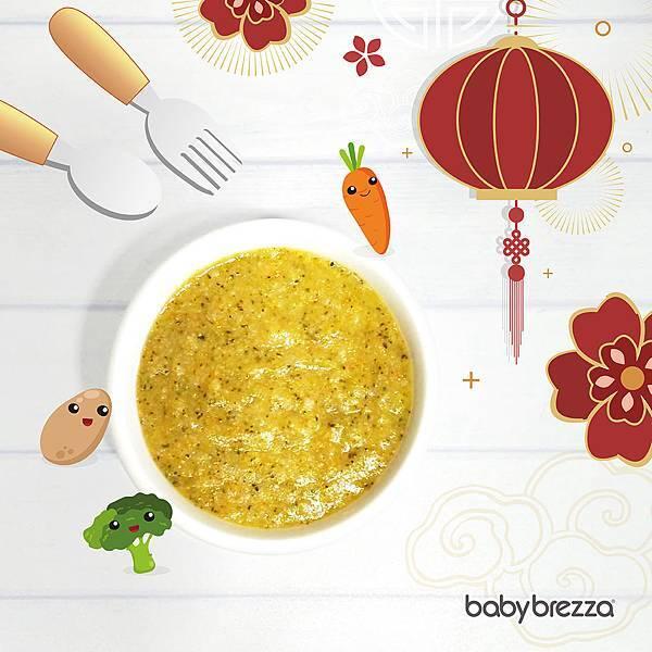 料理機食譜分享_有機蔬菜粥(6+)