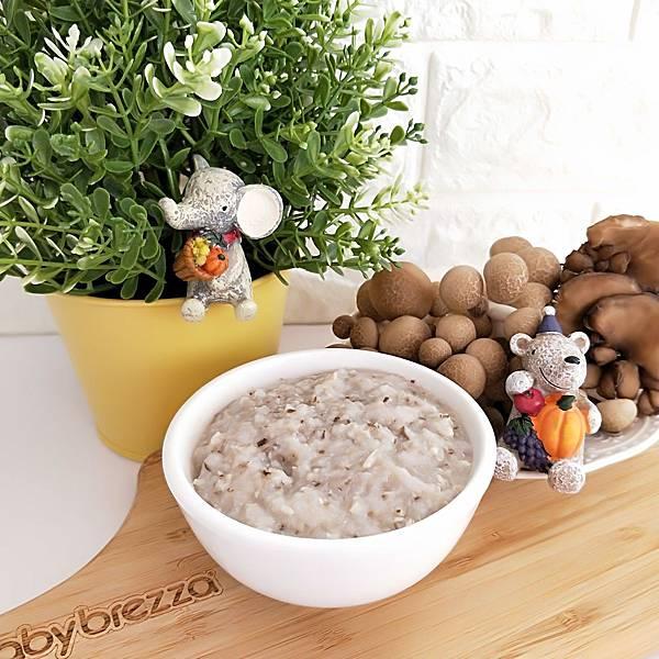 料理機食譜分享_菇菇雞粥(8+)