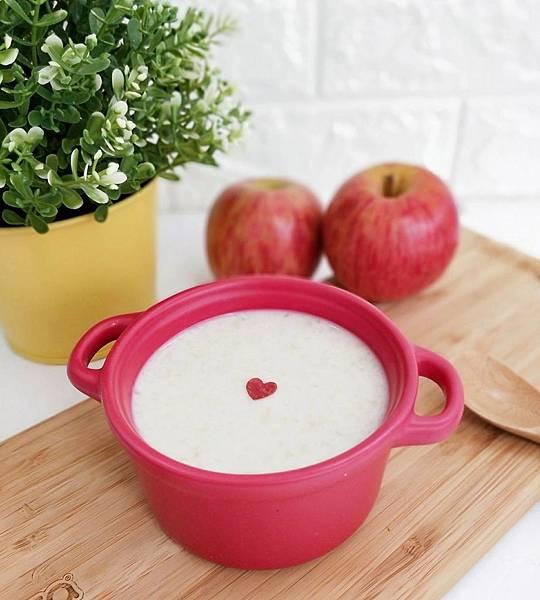 料理機食譜分享_蘋果燕麥泥(6+)