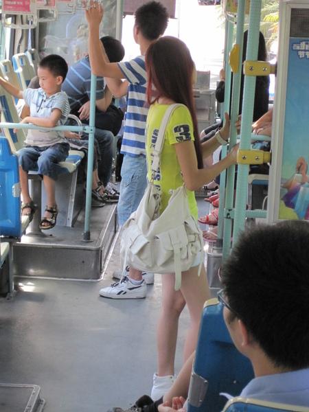 廈門公車上的姑娘