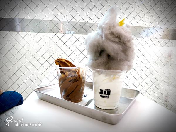 新沙洞的REMICONE烏雲冰淇淋