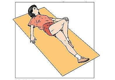 髖關節作彎曲伸直動作會出現聲響1