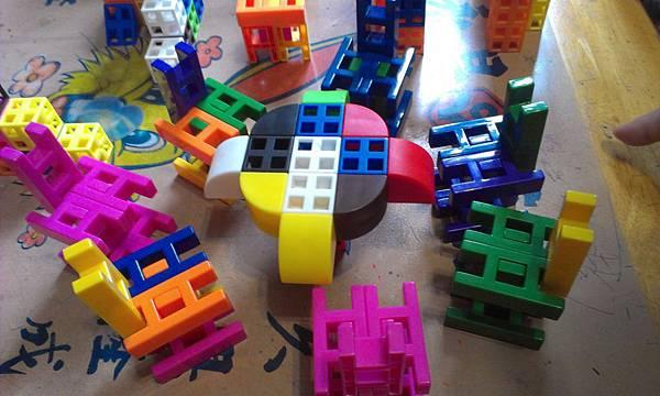 USL遊思樂 (10色連接方塊200P+三角形100P+四分之一圓100P) 三款合購