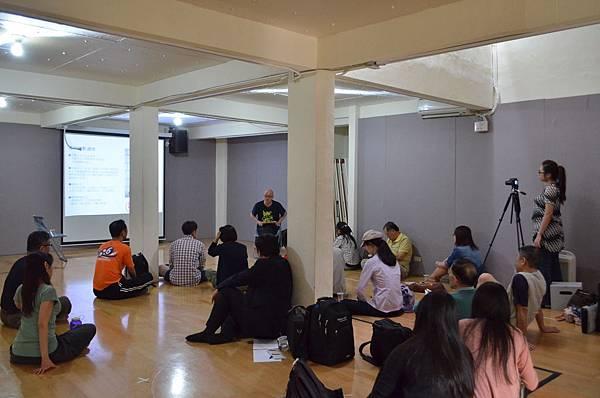 台北文學劇場講座第一場,寶藏巖的差事劇團山城排練場