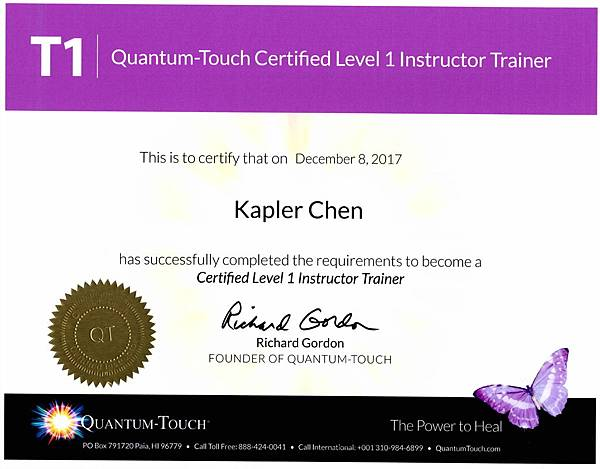 L1 Instructor Trainer