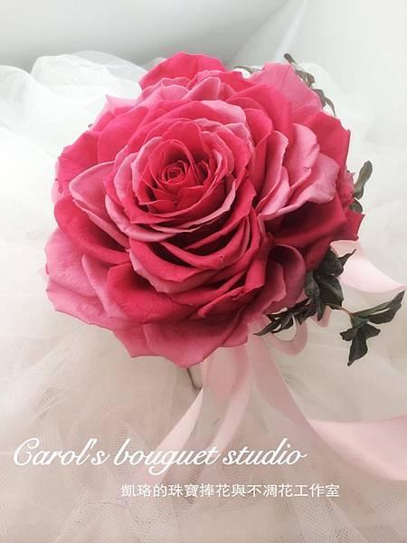 美莉亞拼接法式新娘捧花