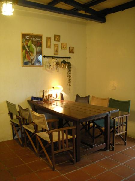 用餐區-很有氣氛吧!