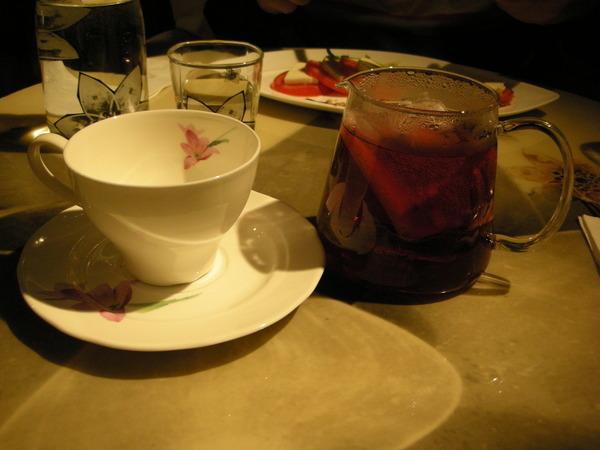 我點的果茶